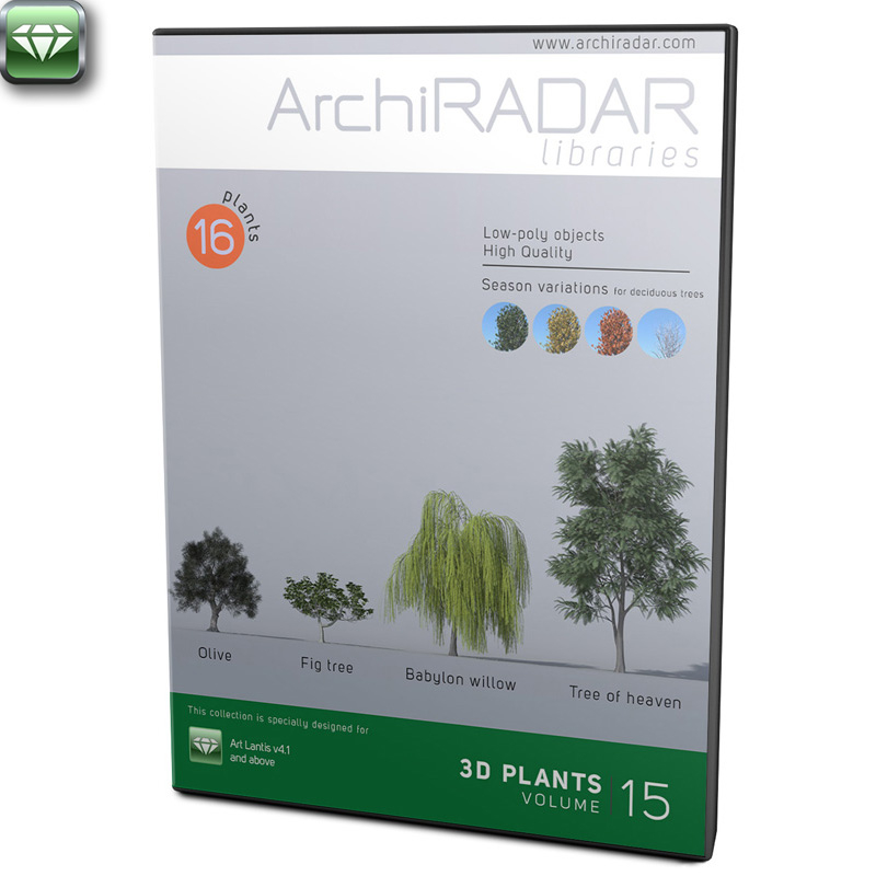 ArchiRADAR Plants - Volume 15