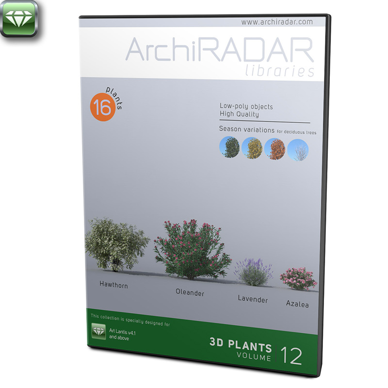 ArchiRADAR Plants - Volume 12