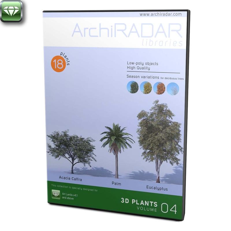 Alberi 3D - Volume 04