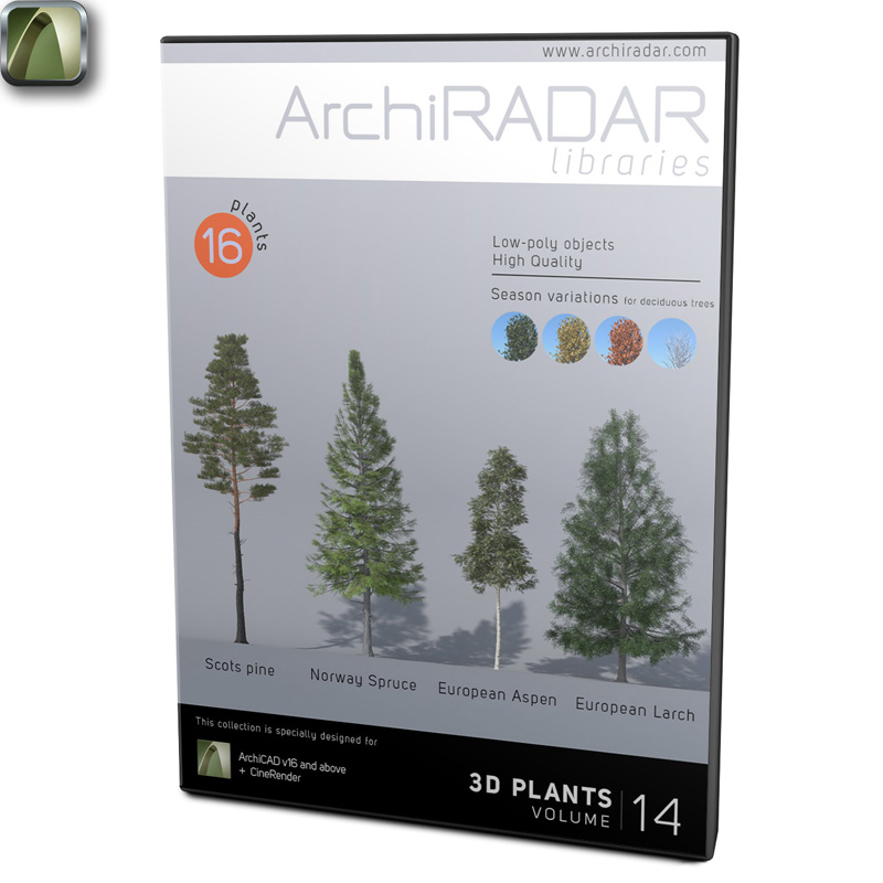 ArchiRADAR Plants - Volume 14