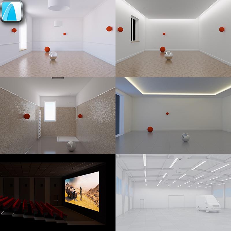 Illuminazione stanze completa