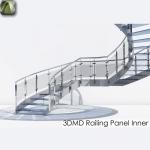 3D Railing Panel Inner