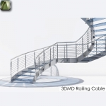 3D Railing cable