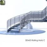 3D Railing Horiz C