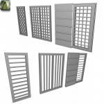 Grilles for windows