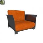 Bob armchair by Kartell