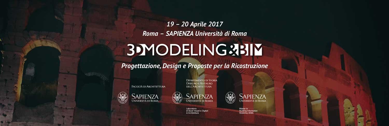 3D Modeling & BIM - Roma La Sapienza