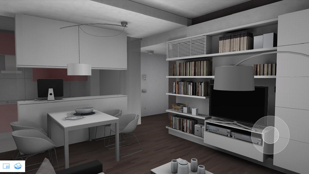 Progettazione bim di un appartamento for Un appartamento