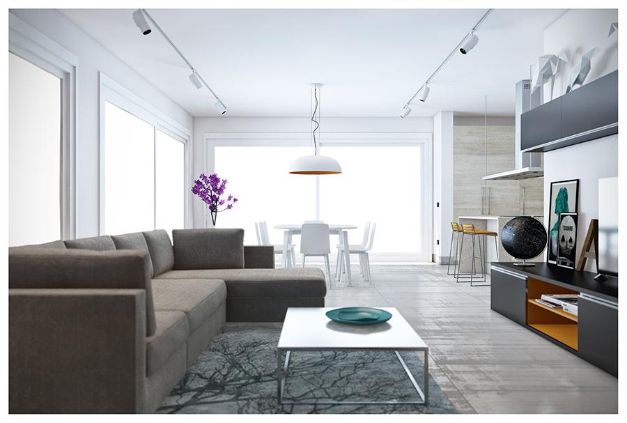 archicad 18 cinerender interior. Black Bedroom Furniture Sets. Home Design Ideas