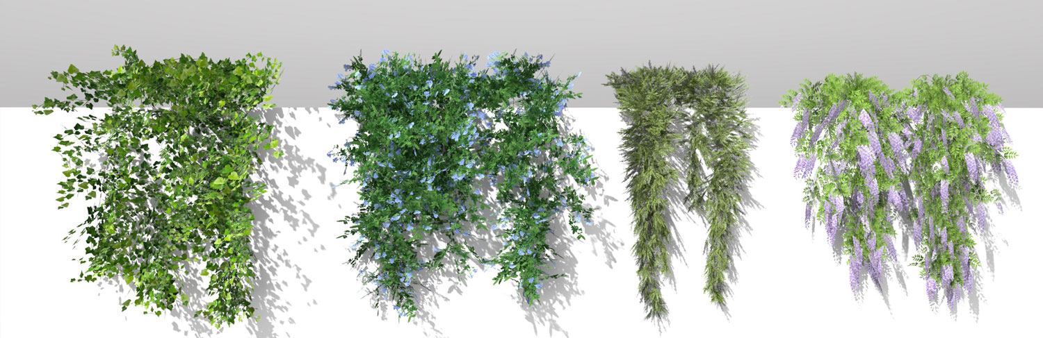 3D Parametric Plants - Volume 02
