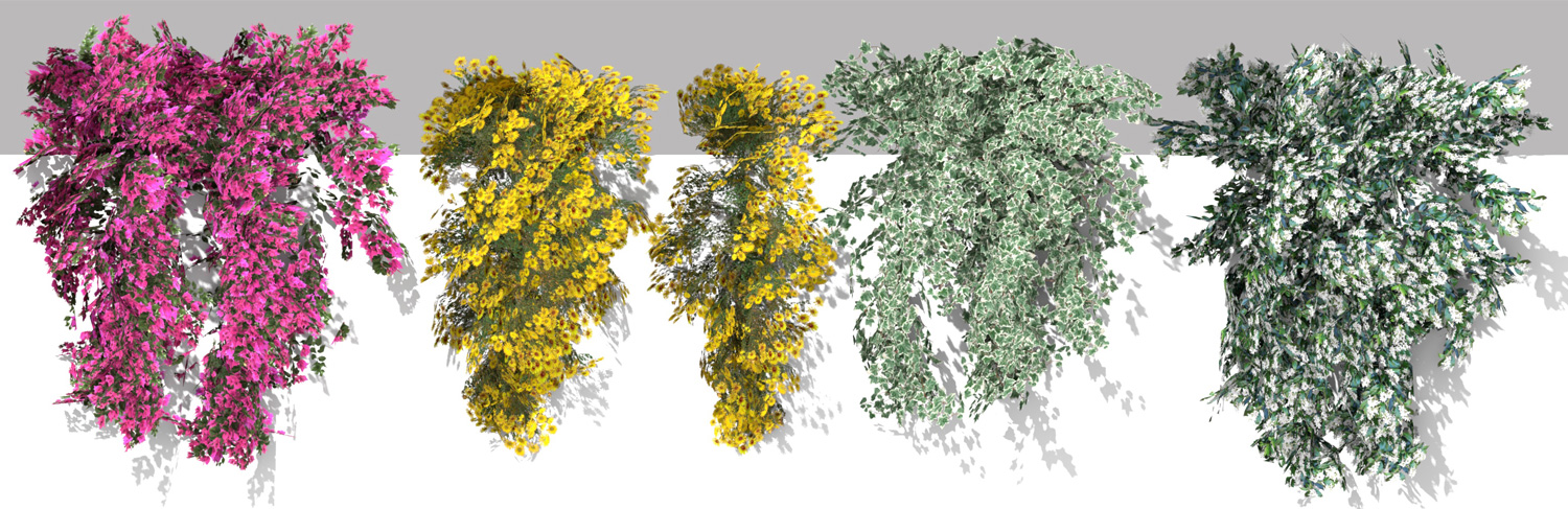 3D PARAMETRIC PLANTS - VOLUME 06