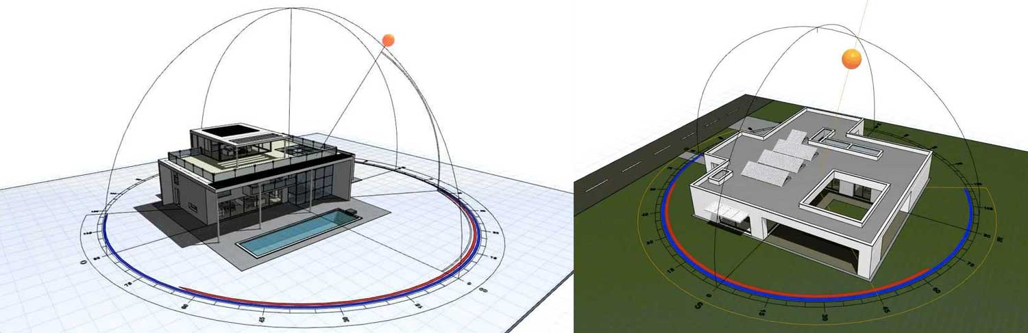 Solar Path Archicad by Archiradar