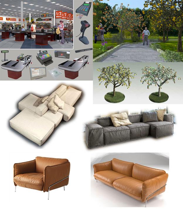 artlantis studio 3d objects free download. Black Bedroom Furniture Sets. Home Design Ideas