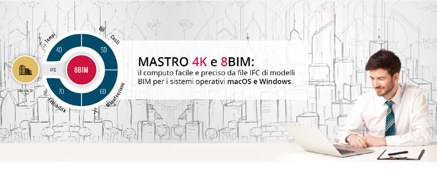 MASTRO 4K quantity take off archicad