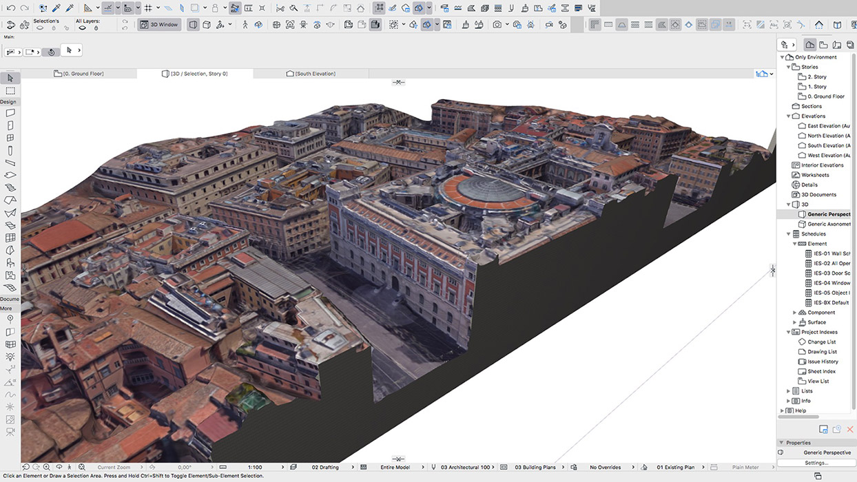 edifici 3d google earth