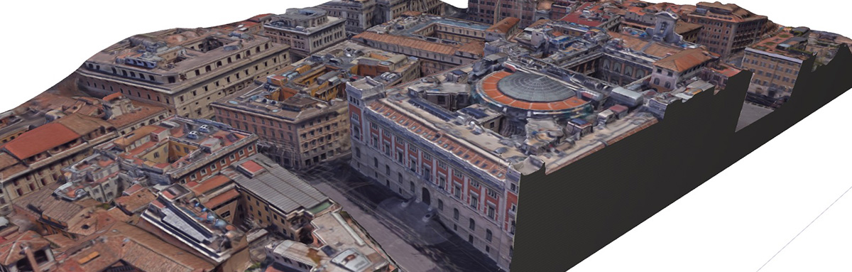 Modello 3D da Google Earth