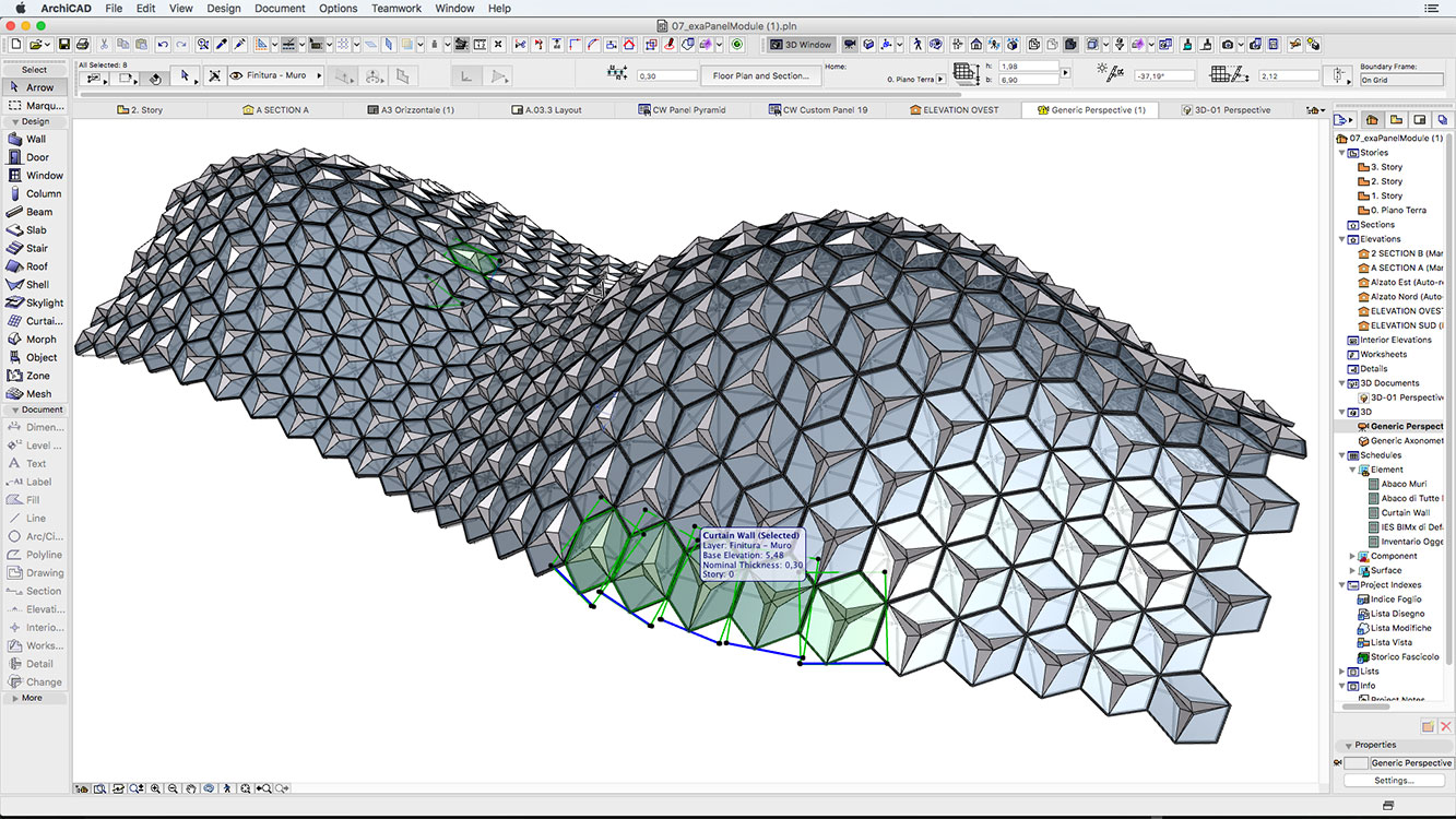 Rhino Grasshopper Archicad on connections tutorial