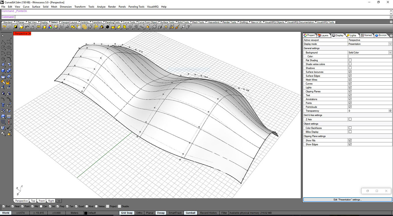 From the shape to BIM