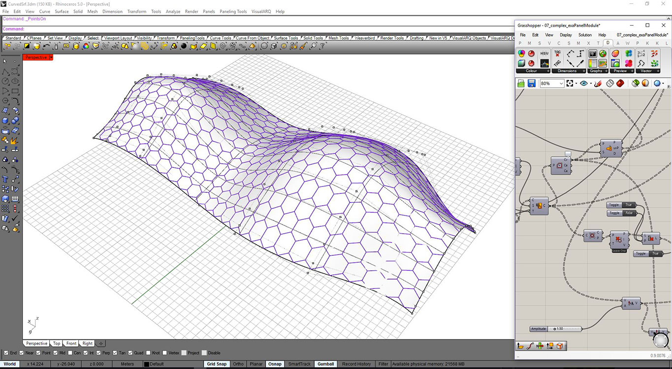 From the shape to bim for Curtain creator software