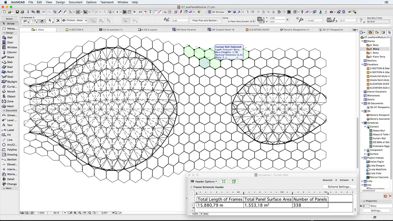 06 Grasshopper Archicad example