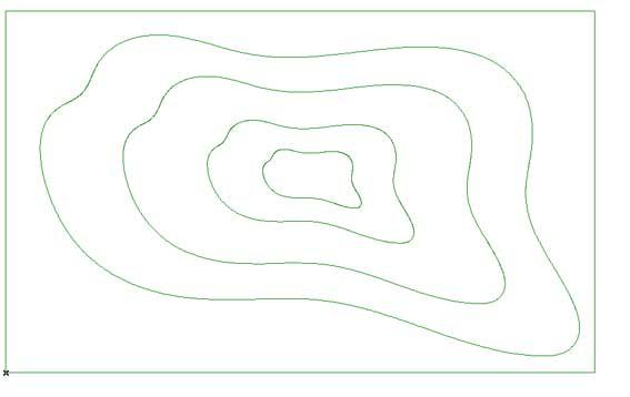 curve di livello dwg