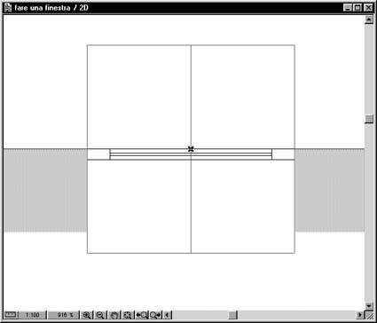 Creare finestre personali parte 1 - Porta finestra in pianta ...