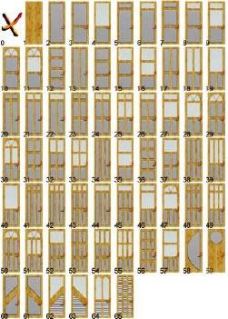 Creare una porta con doorbuilder - Tipi di porta ...