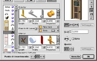 Creare una porta con doorbuilder for Arredi archicad